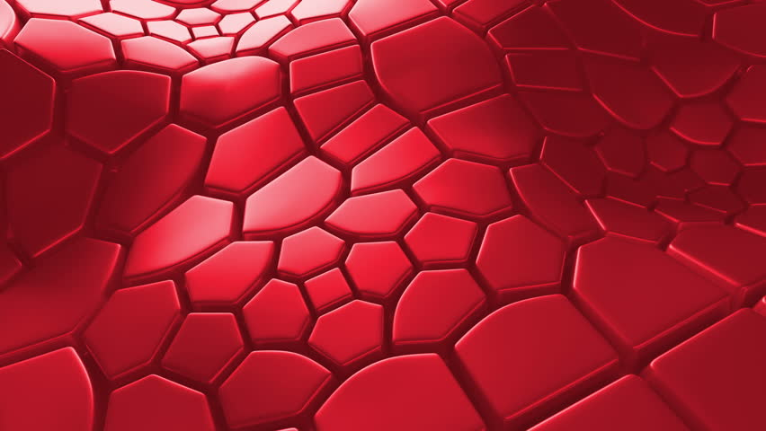 Abstract 3d loopable background with extruded polygons | Shutterstock HD Video #15365782