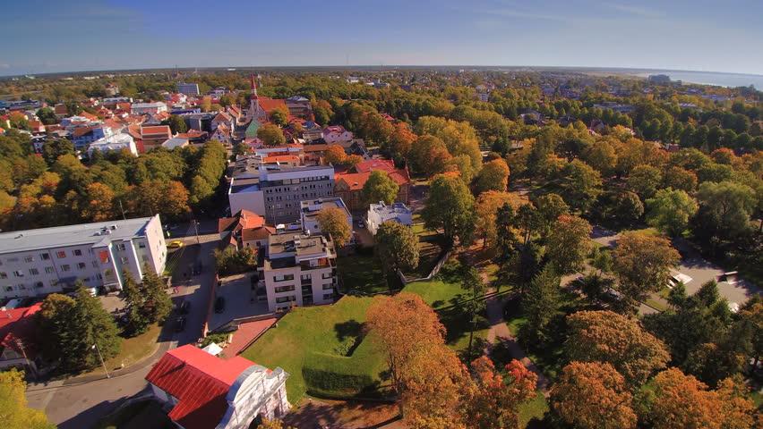 Aerial View Of The Poltsamaa Castle Pltsamaa Castle Also Pltsamaa