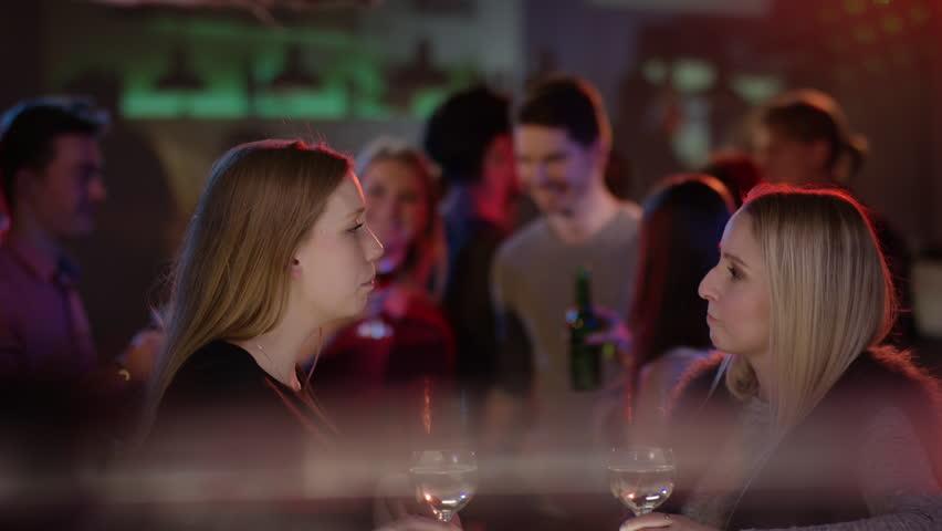 Talking To Girls At A Bar