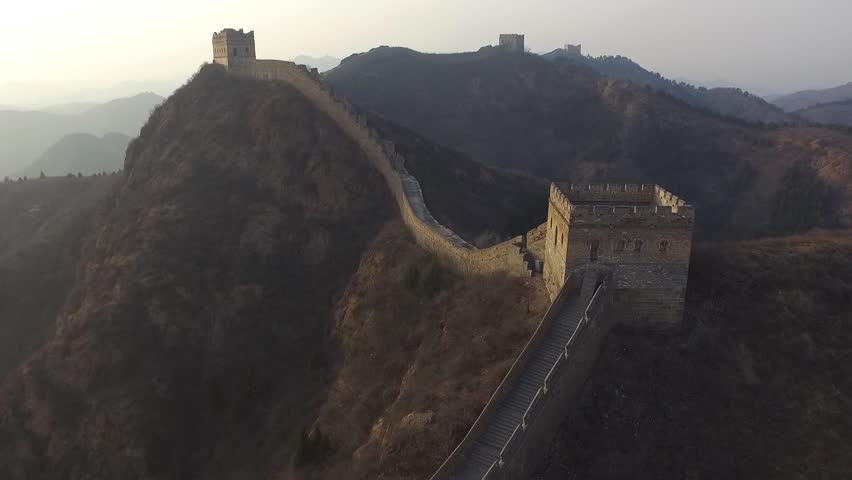 Majestic Great Wall of China | Shutterstock HD Video #15616153