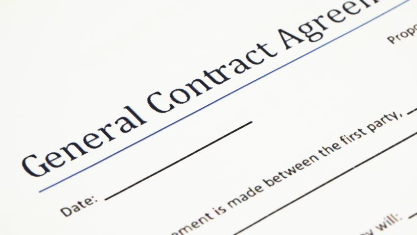 Analyzing General Contract Agreement Form A Contract Is A – Legal Agreements Between Two Parties