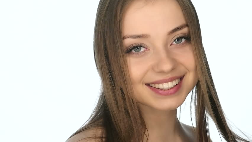 Beautiful Sexy Young Girl Flirts , Slow Motion Stock Footage Video 15621577  Shutterstock-2682