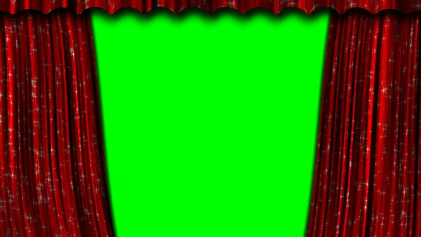 Open Curtain Texture