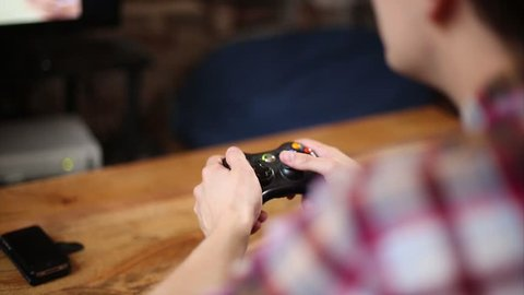 Gamer Captivated by Online Video Games