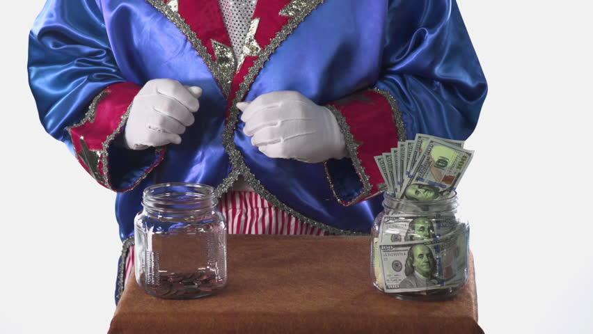 Uncle Sam taxing savings