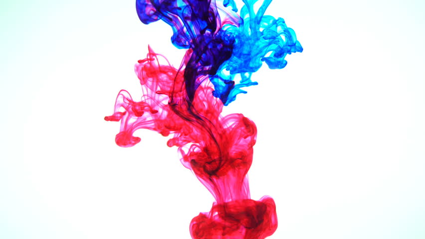 Color Ink Flowing in Water Stock Footage Video (100% Royalty-free) 16033432  | Shutterstock