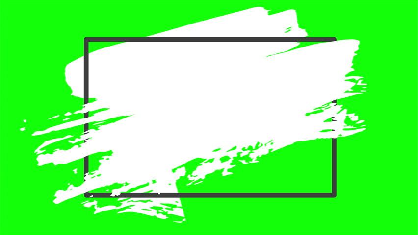 Paint Brush Green Screen