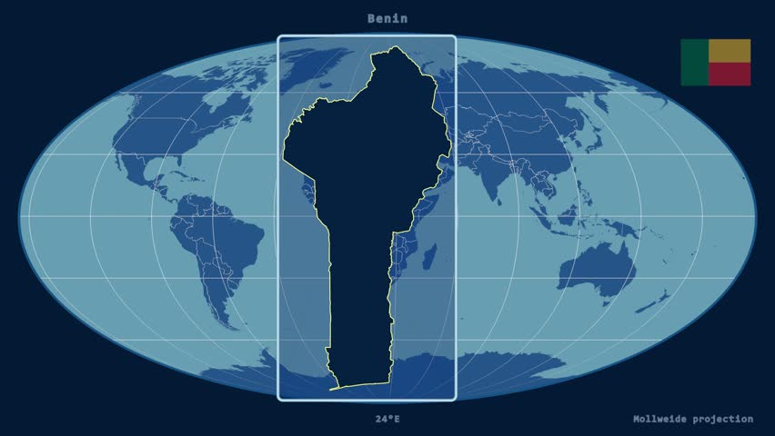 Zoomed in view of a benin outline with perspective lines against a zoomed in view of a benin outline with perspective lines against a global admin map gumiabroncs Choice Image