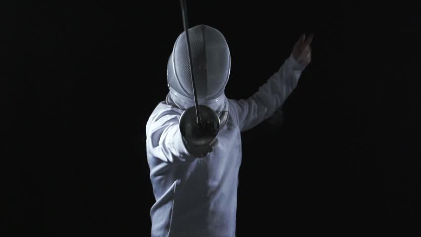 Fencing in studio