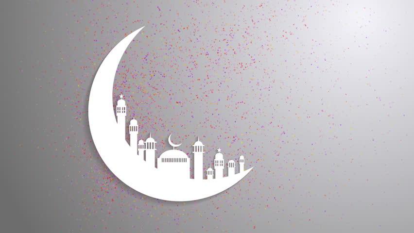 Islamic ramadan in whi...