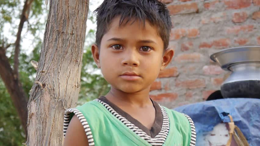 Indian Village Road Stock Footage Video  Shutterstock-2886