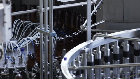 Part Automatic Line for Bottling Beer and Juice
