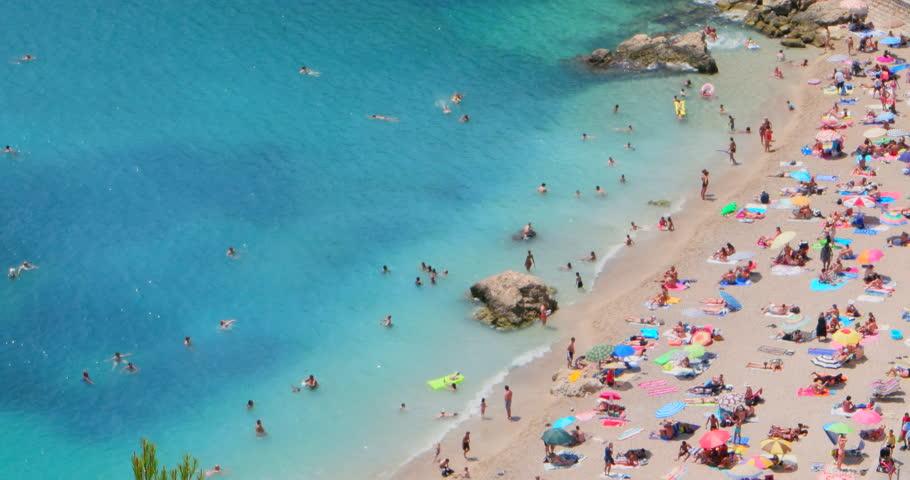 Hanalei Mediterranean Sea French Beach Sand Summer Top Ocean View France Tropical Landscape