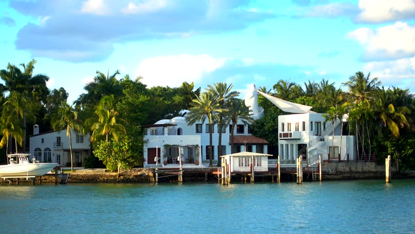 Luxury villa of Colombian singer Shakira in Miami - MIAMI, FLORIDA APRIL 10, 2016