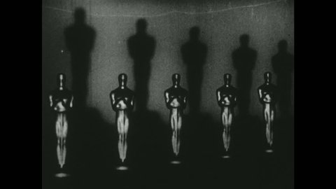 UNITED STATES 1940s: Oscar Awards in a Row