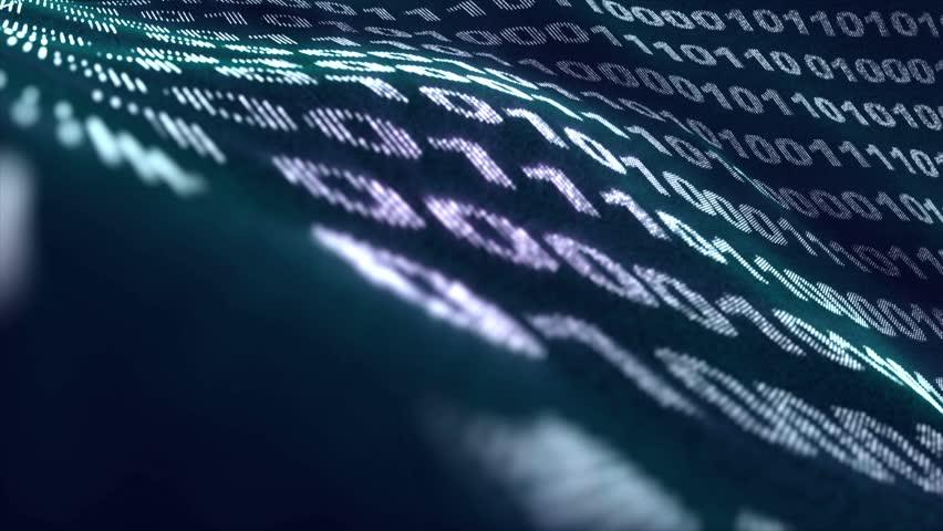 Binary Code Numbers Background, Loop, 4k  | Shutterstock HD Video #16631032