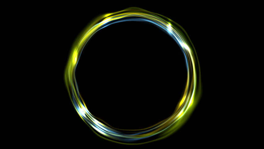 beautiful neon circles 4k - photo #35