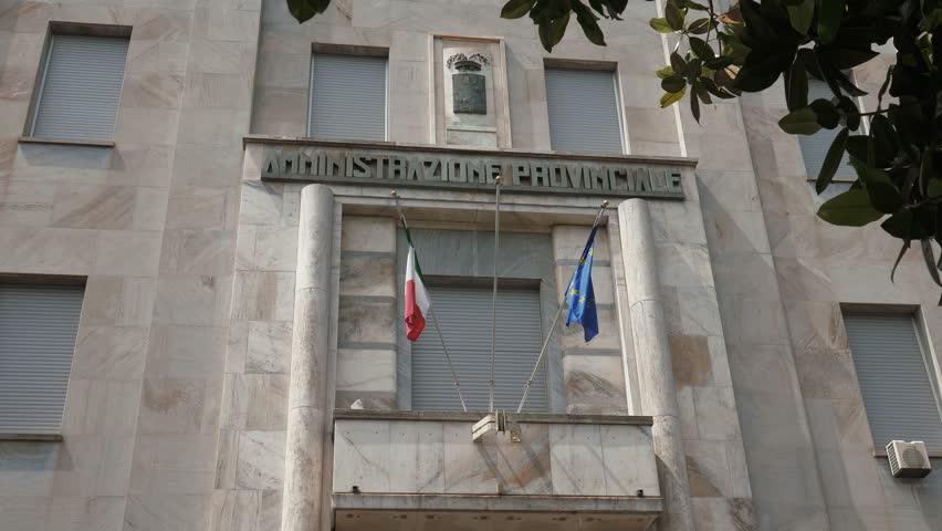 Amministrazione Provinciale Palace in Pavia, PV, Italy