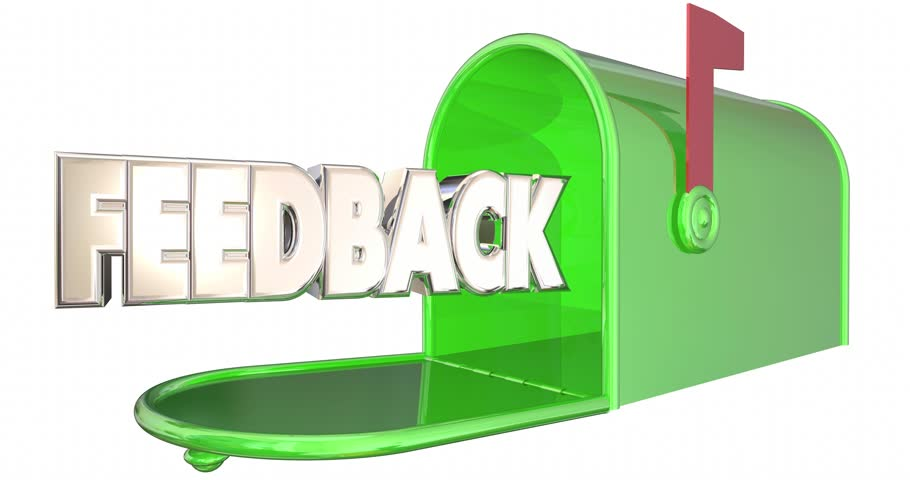 Feedback Message Input Comments Mailbox Word 3d Animation
