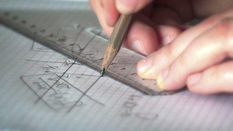 Mathematics Geometry Homework Graph Construction