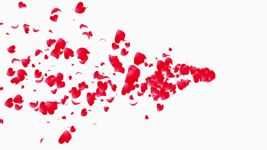 red paint splatter. blood, paint, or ketchup? i guess that's up to