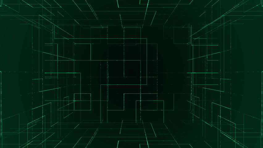 Data digital with light and  grid | Shutterstock HD Video #16726702