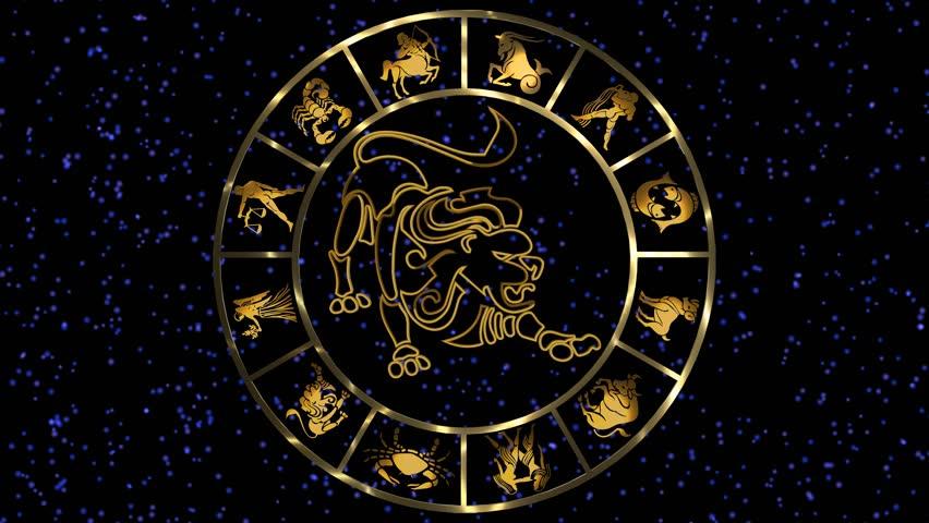 Открытки со знаками зодиака круглые, надписью про