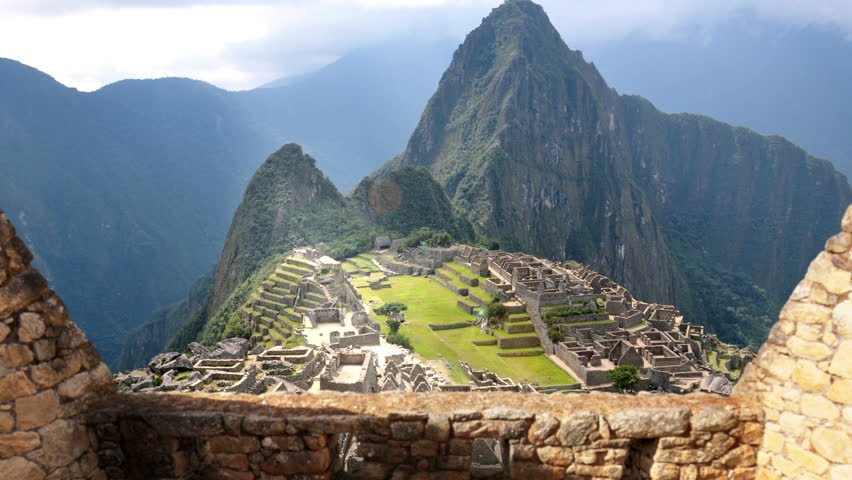 Machu Picchu - View From Behind The Wall | Shutterstock HD Video #16777456