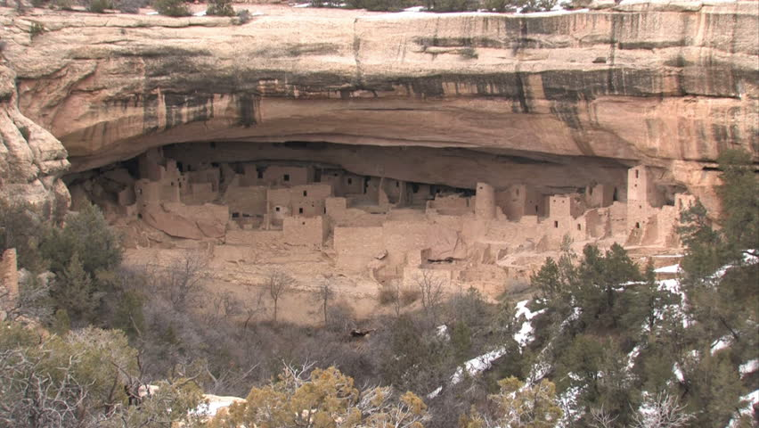 Stock Video Of Mesa Verde National Park In Southern
