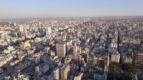 Buenos Aires, Argentina - November 21, 2015: Palacio Barolo at the center of sprawling Buenos Aires, Argentina
