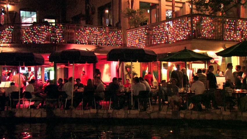 San Antonio Texas Riverwalk Tourists Stock Footage Video 100 Royalty Free 170002 Shutterstock