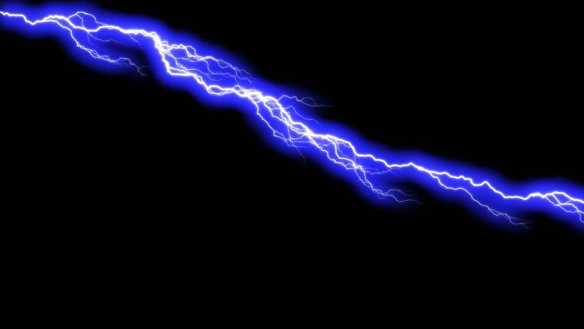 Realistic Lightning Strikesthunderstorm Stock Footage Video 100 Royalty Free 17037562