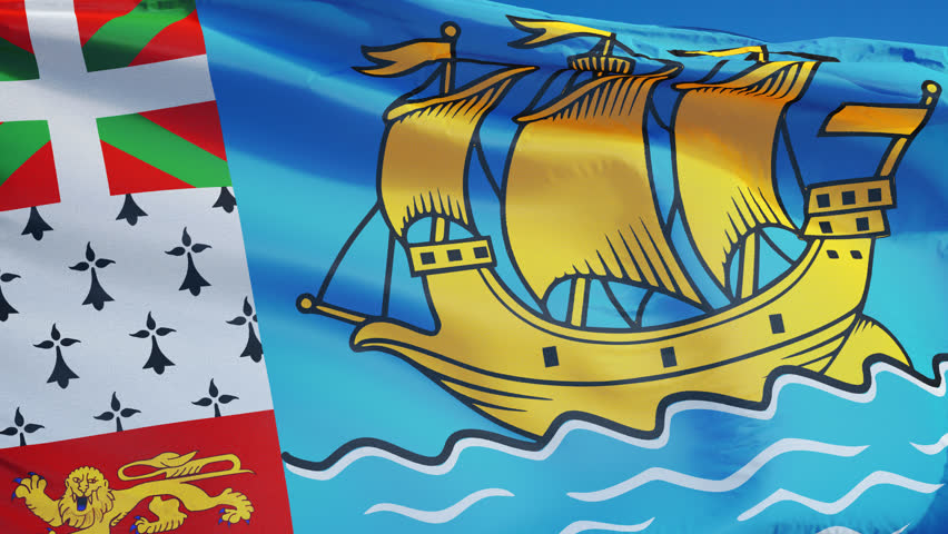 Newfoundland State Flag (seamless) Stock Footage Video 12630008 ...
