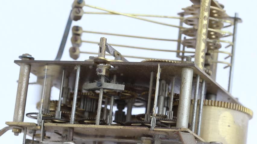 Antique Clockwork   Shutterstock HD Video #17129392