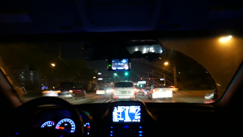 Night Driving Timelapse 2 Inside Windshield Busan In Korea