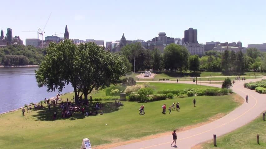 June 17, 2016 - Ottawa, Ontario - Canada - Ottawa landscape