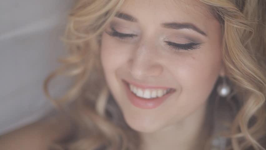 Closeup Of Beautiful Teen Girl Taking A Selfie With Her -9407