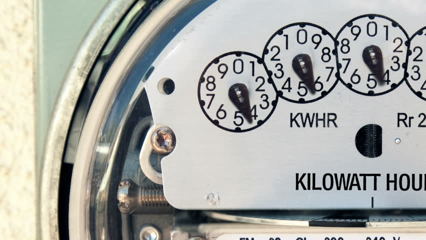 Electricity Meter Time-lapse