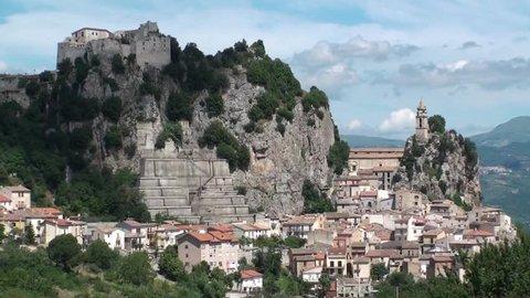 Bagnoli del Trigno, a small town in the province of Isernia, Molise Italy
