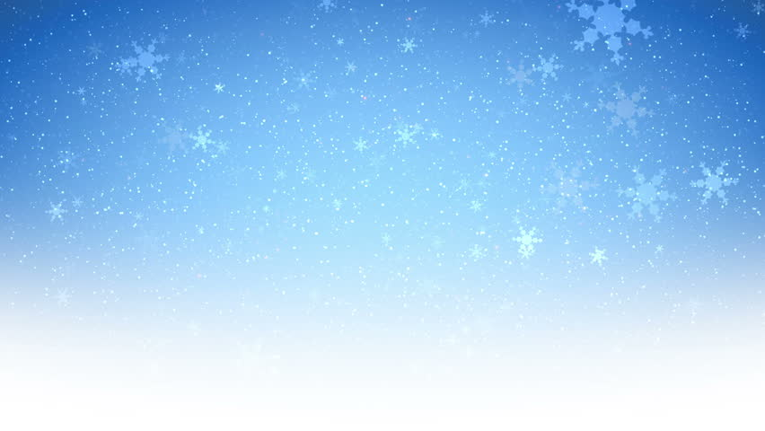 winter christmas background falling snowflakes 4k stock
