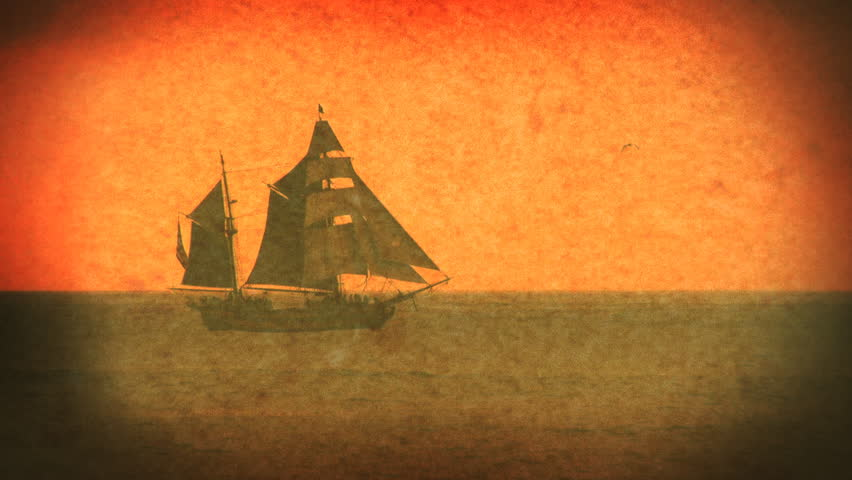 Pirate Ship - Old World Sailboat