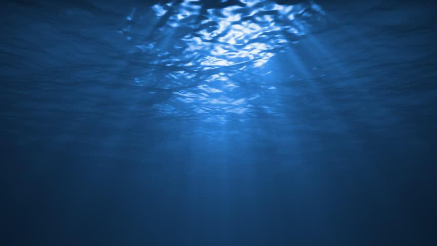 Underwater Reflection in the Ocean
