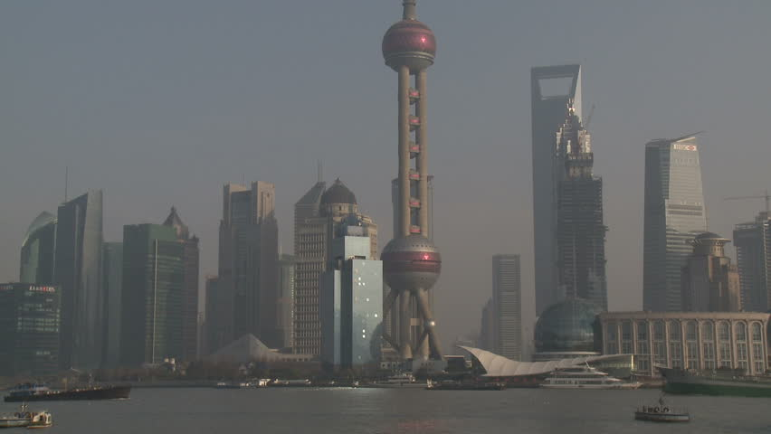 Shanghai Pudong Grand Skyline