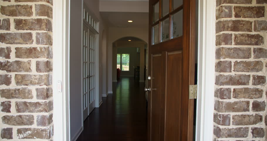 House Front Door Open