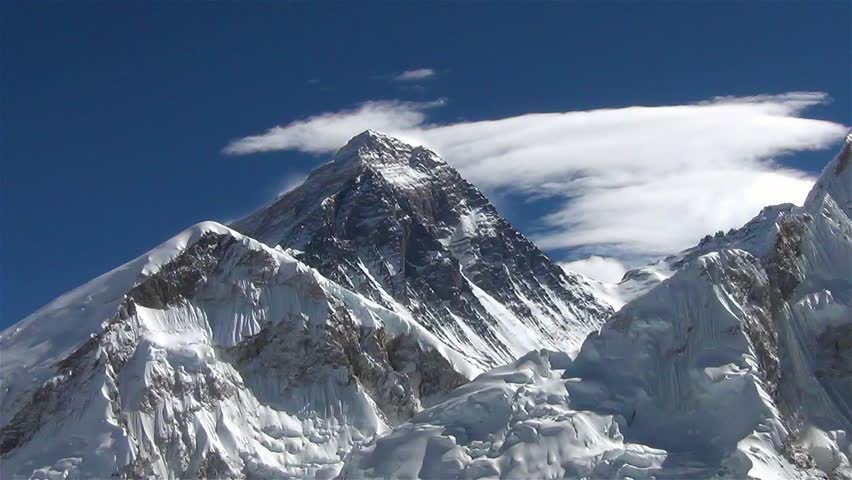 View of Mount Everest from Stock Footage Video (100% Royalty-free) 17798662  | Shutterstock