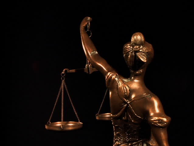 Header of justice