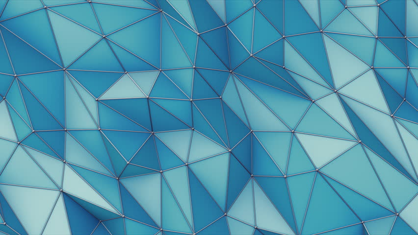 Abstract Triangle Metallic Background, 3d Loopable Animation 4k   Shutterstock HD Video #17865112