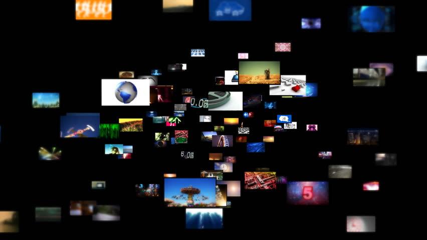 Video Wall Media Streaming HD