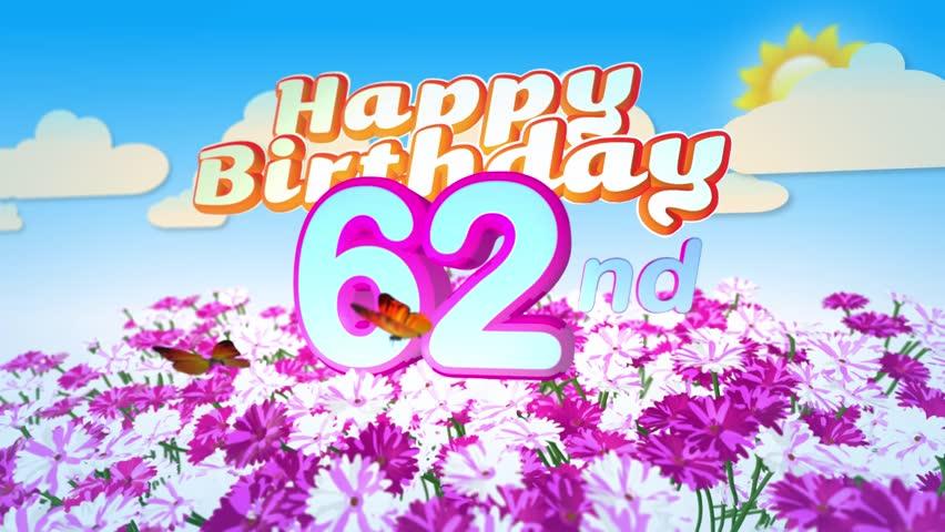 Happy 62nd birthday cards atletischsport happy 62nd birthday cards happy 62nd birthday cards m4hsunfo