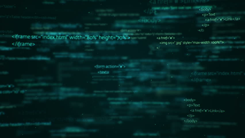 Animation of programming on abstract digital screen. Variety Code languages and colors in my profile: C++, Assembler, Java, Javascript, HTML and CSS. Animation of seamless loop. | Shutterstock HD Video #18087193